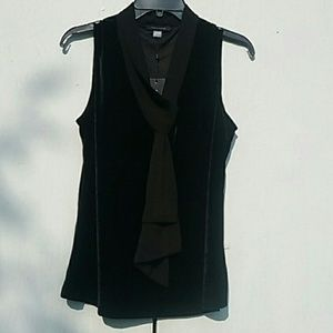 New Tommy Hilfiger Velour dress sleeveless blouse